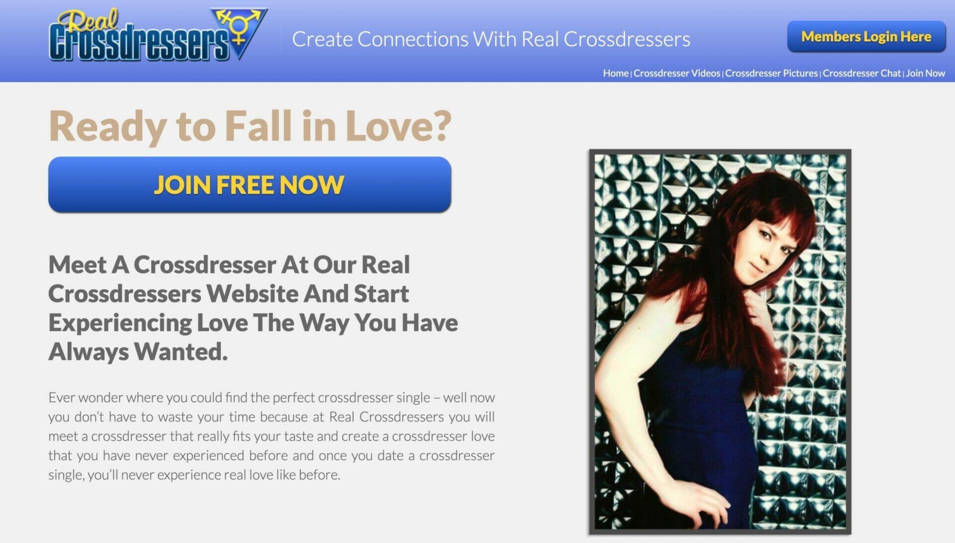 Real Crossdresser main page